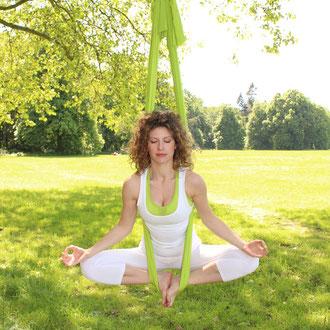 Mama Chillt Beim Aerial Yoga Mamachillt
