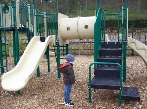 spielplatz im bungalowpark