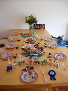Tisch Kindergeburtstag